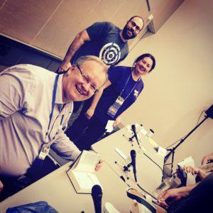 My fellow 'Australian SF' panelists