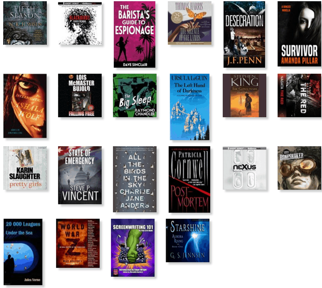 My Year in Reading – 2016