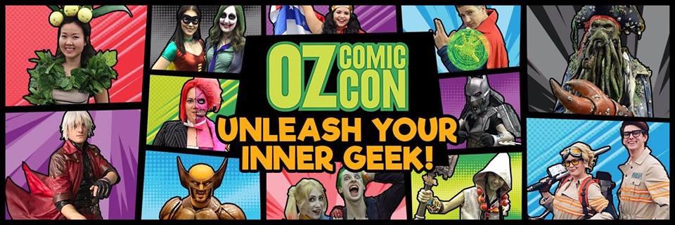 Oz Comic Con Perth