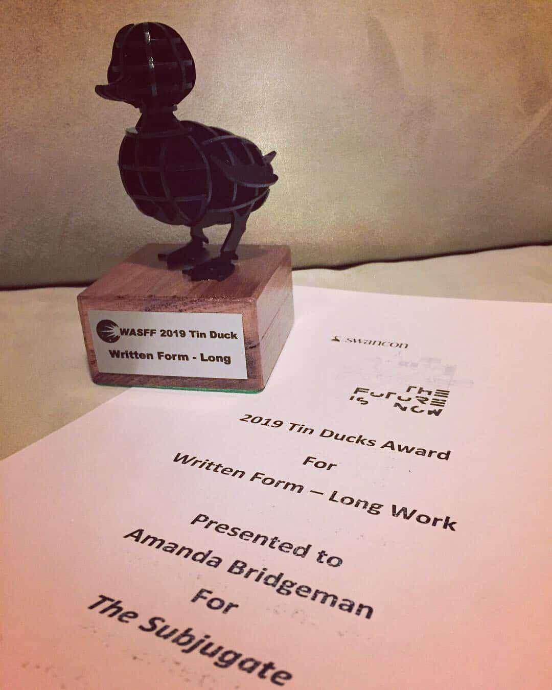 Award Win!