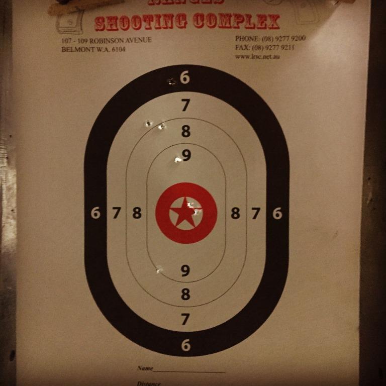.22 Caliber Revolver results